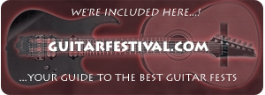 GuitarFestival.Com - your guide to the best guitar fests